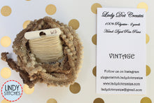 Load image into Gallery viewer, Vintage Mini Pom Pom Trim by Lady Dot Creates Hand Dyed 2 Yards