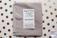 Load image into Gallery viewer, Old Cement Gray Hand Dyed 100% Cotton Velveteen by Lady Dot Creates
