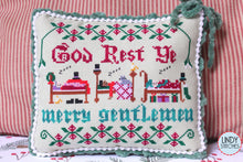 Load image into Gallery viewer, PDF God Rest Ye Merry Gentlemen Cross Stitch Pattern by Lindy Stitches