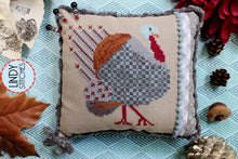Load image into Gallery viewer, PDF Strutting Tom Cross Stitch Pattern by Lindy Stitches