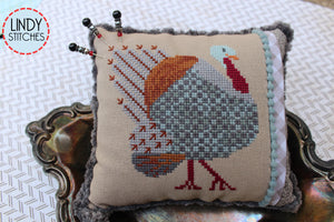 PDF Strutting Tom Cross Stitch Pattern by Lindy Stitches