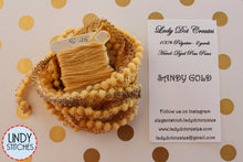 Load image into Gallery viewer, Sandy Gold Mini Pom Pom Trim by Lady Dot Creates