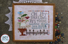 Load image into Gallery viewer, Beautiful Things Cross Stitch Pattern by Lindy Stitches Physical Copy