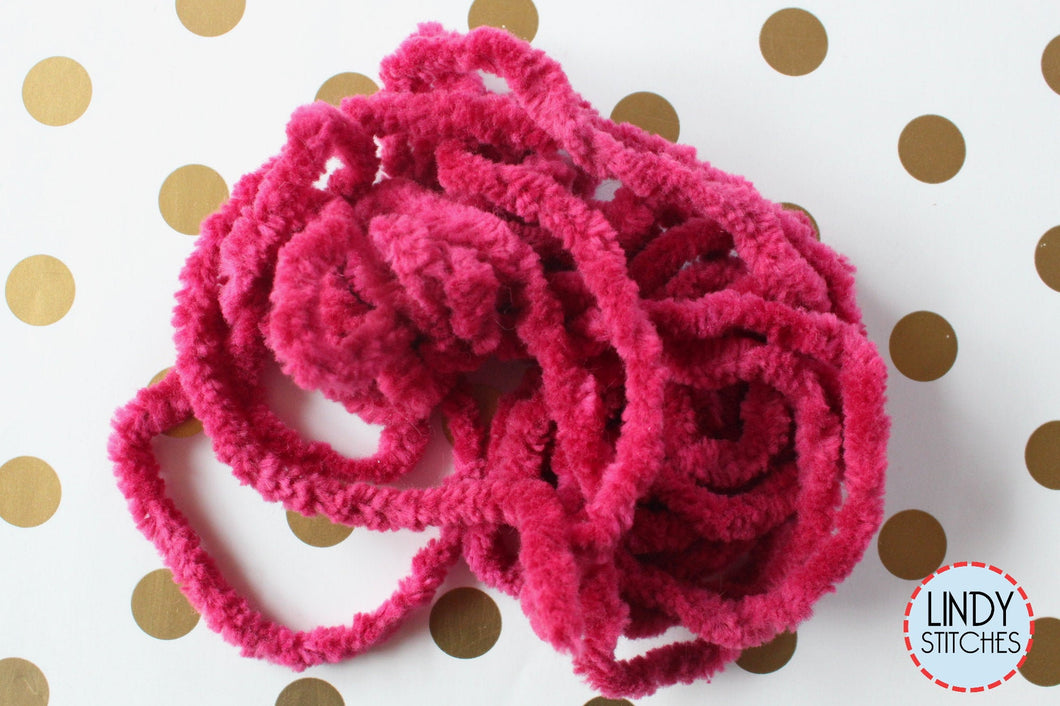 Chianti Chenille Trim Hand Dyed by Lady Dot Creates
