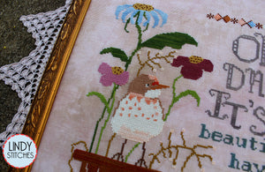 Beautiful Things Cross Stitch Pattern by Lindy Stitches Physical Copy