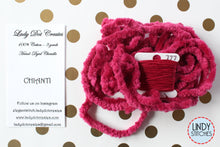 Load image into Gallery viewer, Chianti Chenille Trim Hand Dyed by Lady Dot Creates