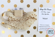 Load image into Gallery viewer, Nilla Lace Hand Dyed 100% Cotton Lace by Lady Dot Creates