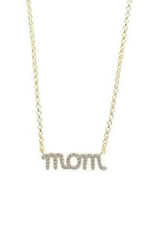 MOM Necklace - Gold