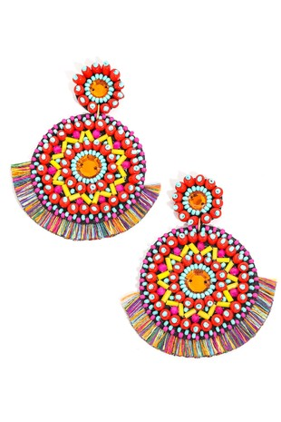 Tango til Sunrise Earrings - Multi