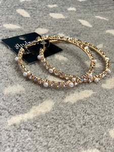 Audrey Gold Hoops