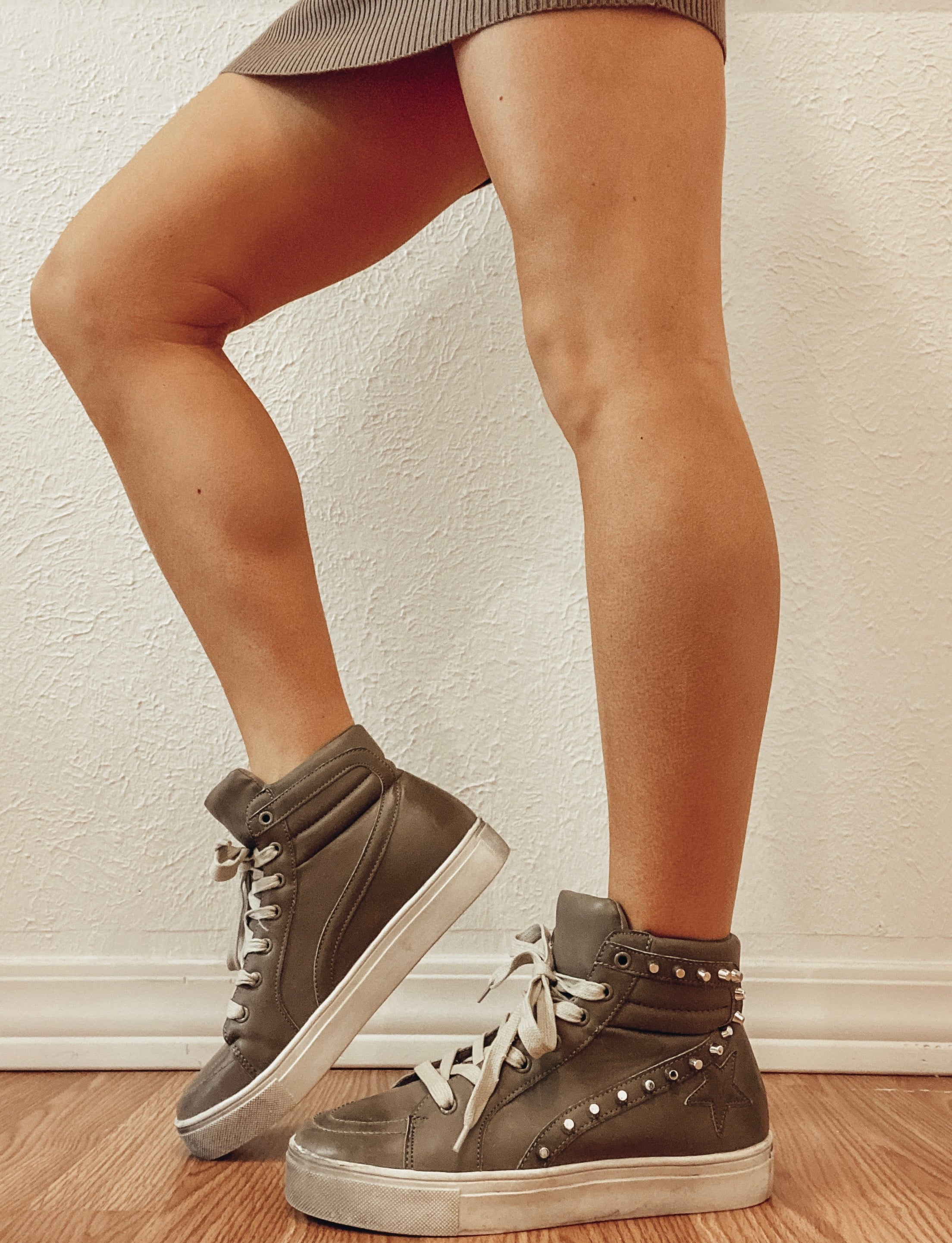 Asher Studded Sneakers