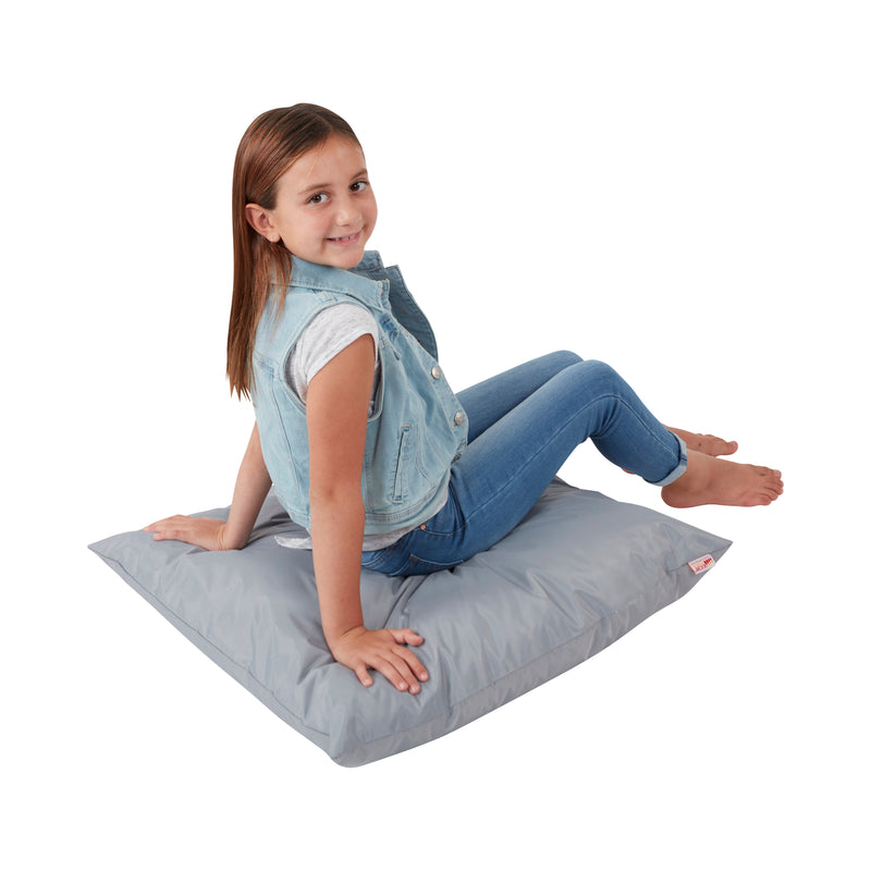 "27"" Jumbo Floor Pillow for Kids and Adults, Classroom Pillows for Reading, Flexible Learning, Reading Nooks, Playrooms, Indoor and Outdoor Throw Pillows"