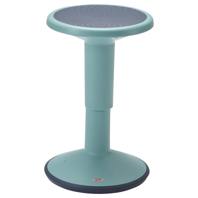 SitWell Height-Adjustable Wobble Stool - Active Flexible Seating Chair for Kids and Adults - School and Office