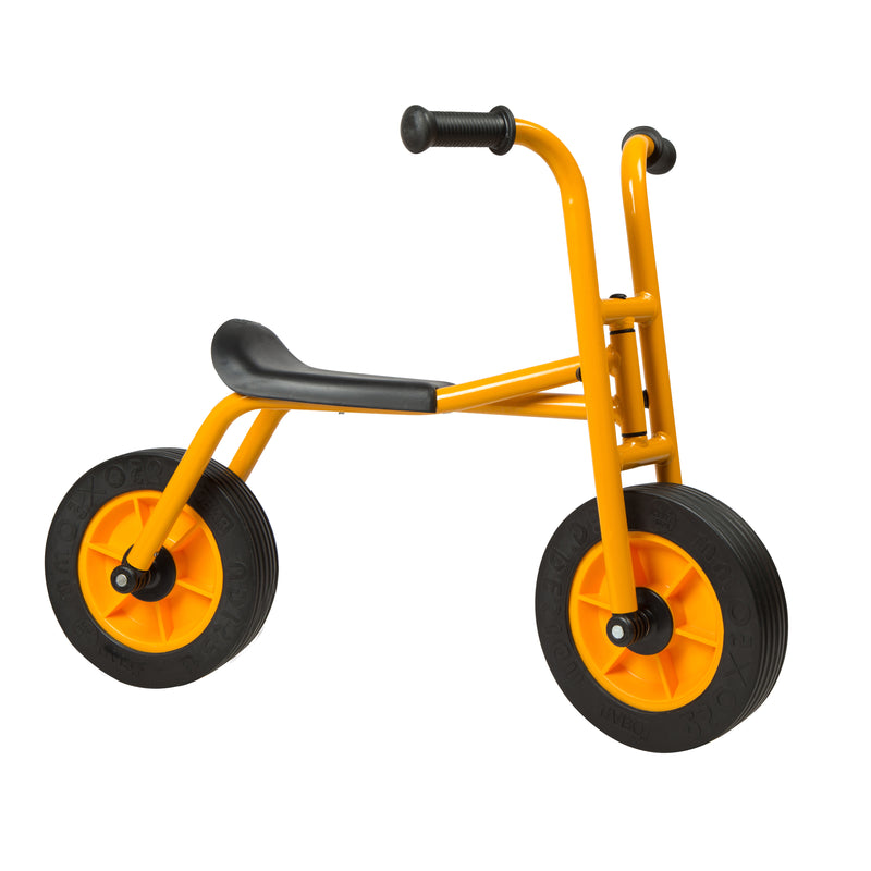 My First Balance Bike, RABO powered by ECR4Kids, Beginner Walking Bicycle for Kids - Yellow/Black