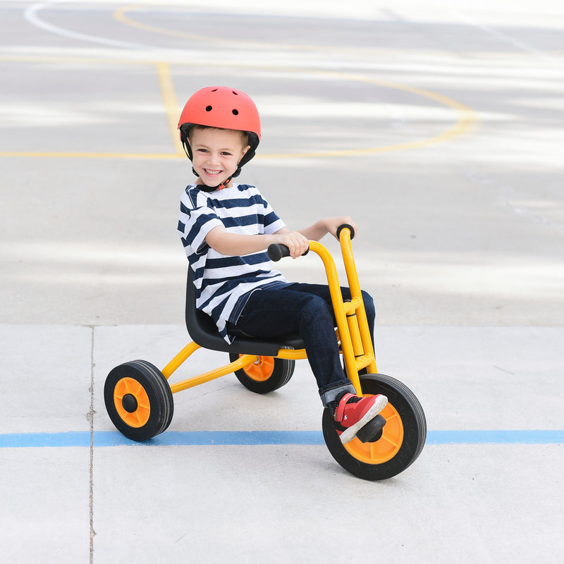 Speedster Trike, RABO powered by ECR4Kids, Premium Toddler Tricycle for Kids - Yellow/Black