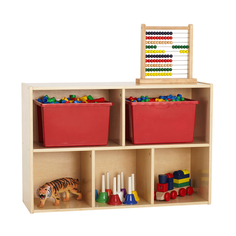 Birch Streamline Storage Cabinet - Hardwood Classroom & Home Storage Solution for Kids