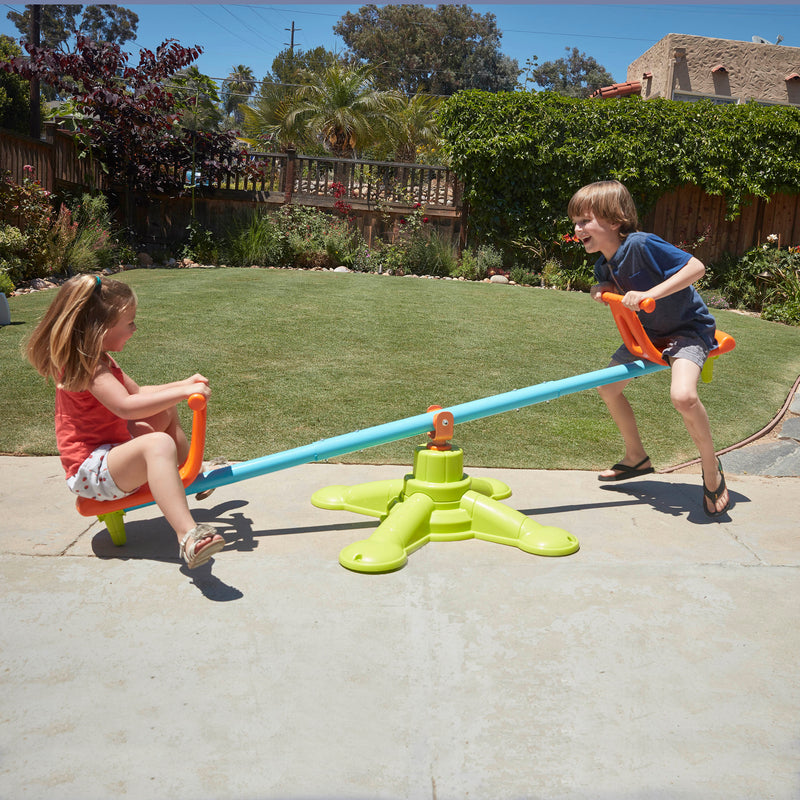 Spinner Seesaw, Spinning 360° Teeter-Totter, Sturdy and Durable for Home, Daycare or Preschool