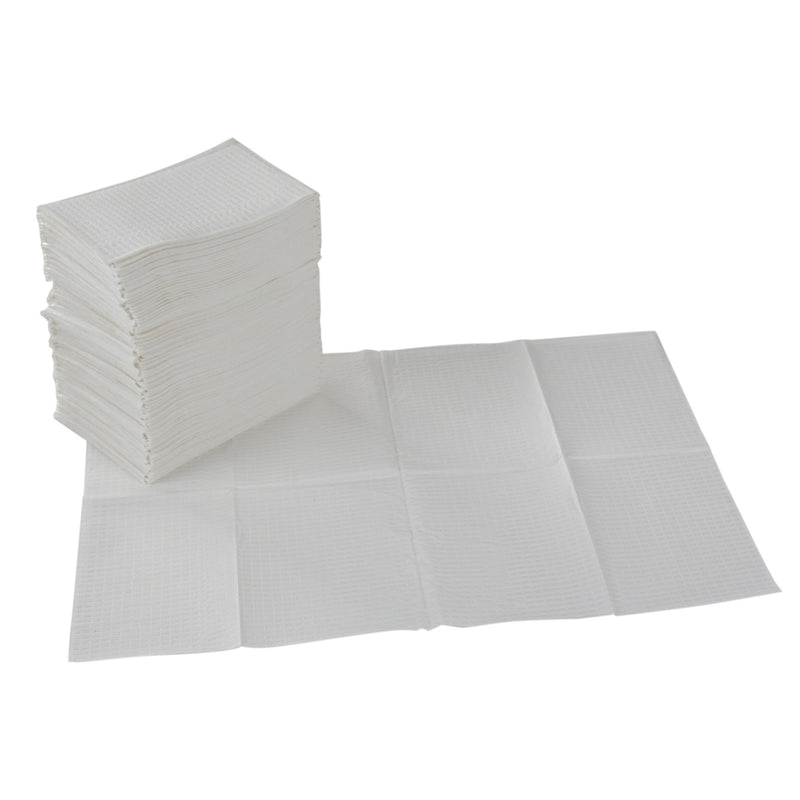 2-Ply Disposable Baby Changing Station Sanitary Liners, 13in x 18in, 500-Pack