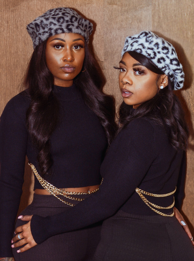 HIT MY SPOT - Cheetah Berets