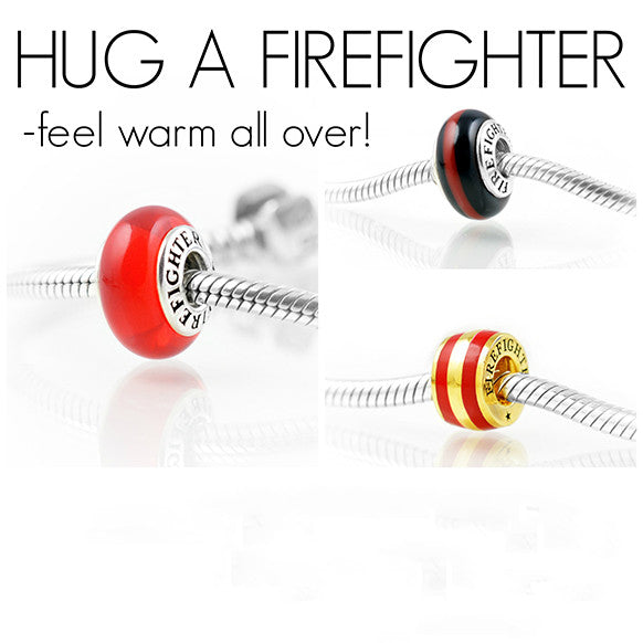 Firefighter Charm