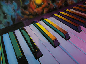 Keys to Space Original Painting