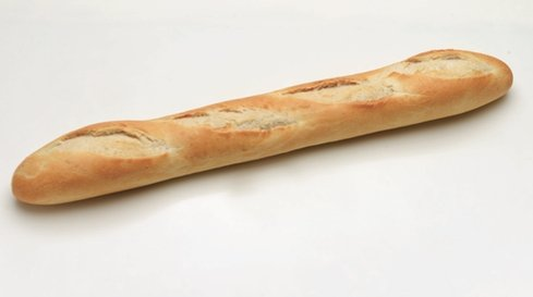 White Baguette Long - Krumble Inc