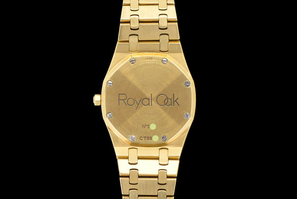 1980s Audemars Piguet Royal Oak 18k Gold 4100BA