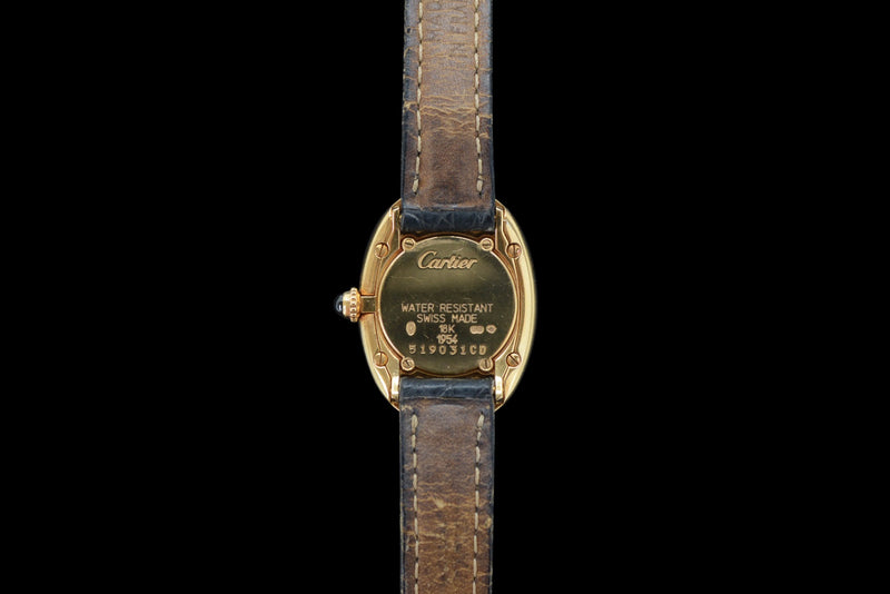 1990s Cartier Baignoire 18k Yellow Gold