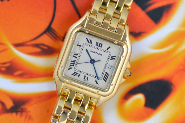 1990s Cartier Panthere 18k Yellow Gold 887968