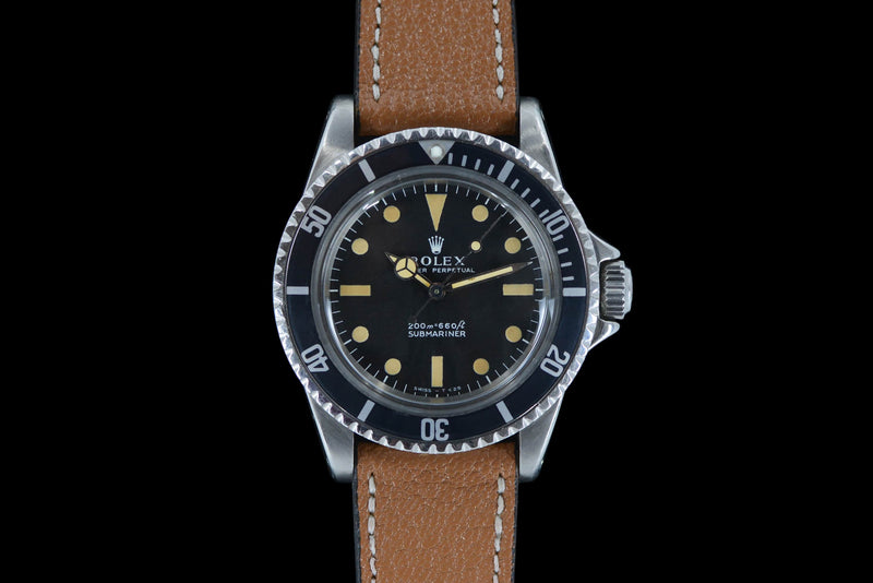 1967 Rolex Oyster Perpetual Submariner 5513 Meters first