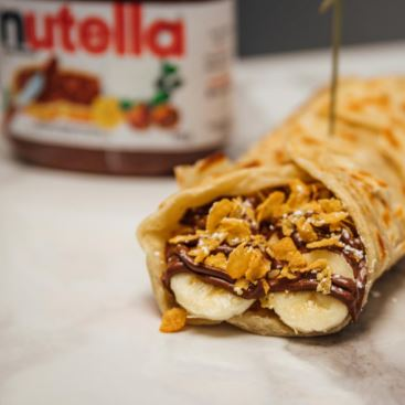 Banana Nutella Paratha - Elchi Chai Shop Downtown Toronto Indian Takeout