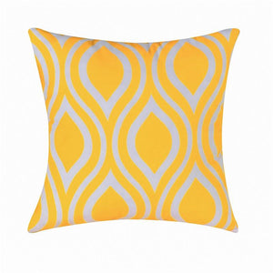 Topfinel Geometric Design Waist Throw pillow case sofa Orange Cushion Covers for Sofa Car Couch Seat decorative pillow covers