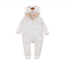 Load image into Gallery viewer, Snow Bear Onesie