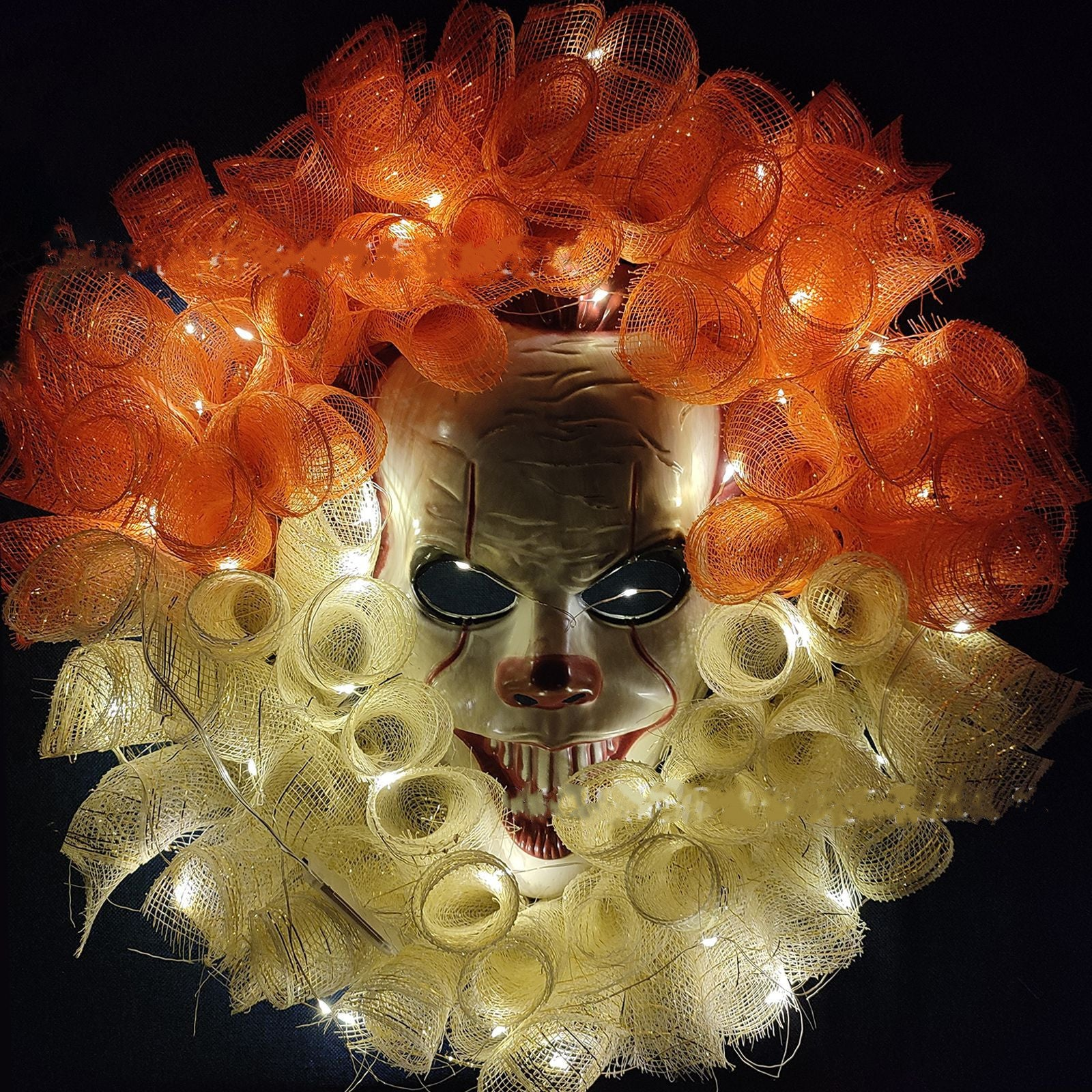Mask Horror Glowing Garland Decoration Props