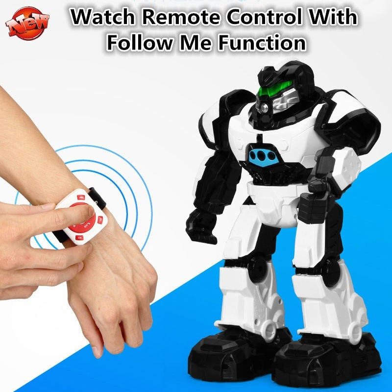 Upgrade Watch/Transmitter Dual Control Intelligent Induction RC Robot