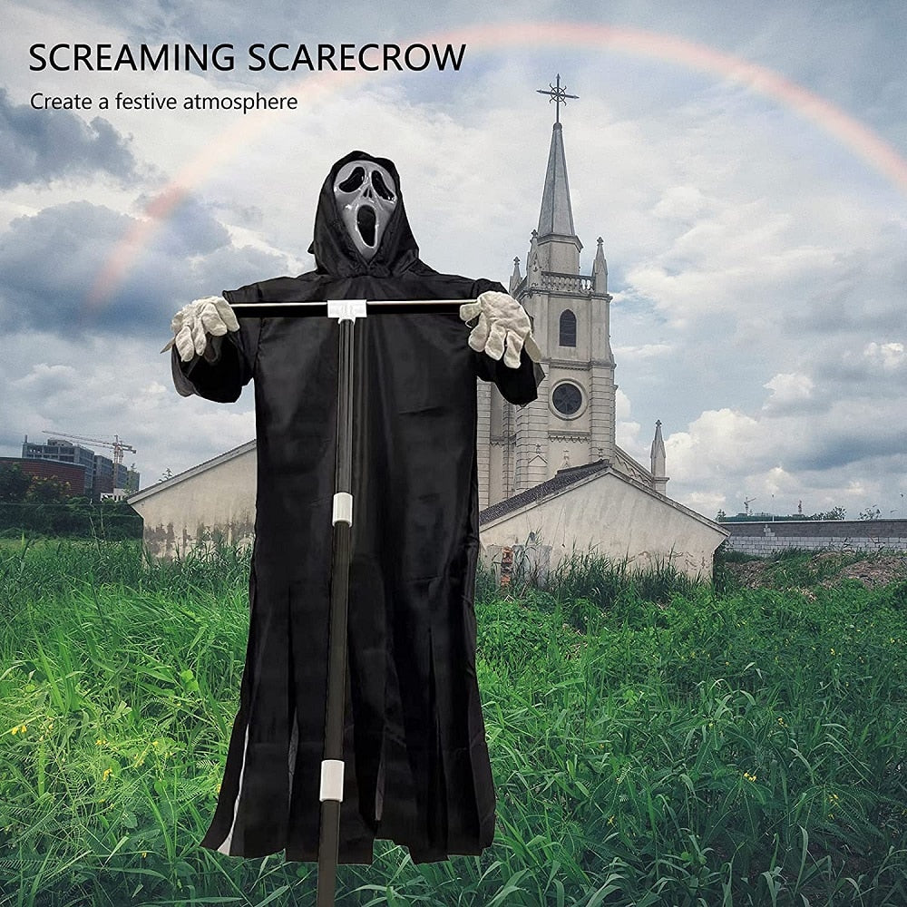 2021 NEW Halloween Horror Scarecrow and scary faces