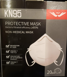 KN95 MASKS - BOX OF 20 ($1.00/mask) - REDUCED!