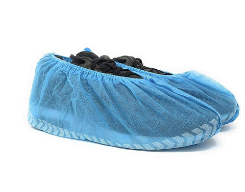 Polypropylene Shoe Covers (Blue) - Pack of 100