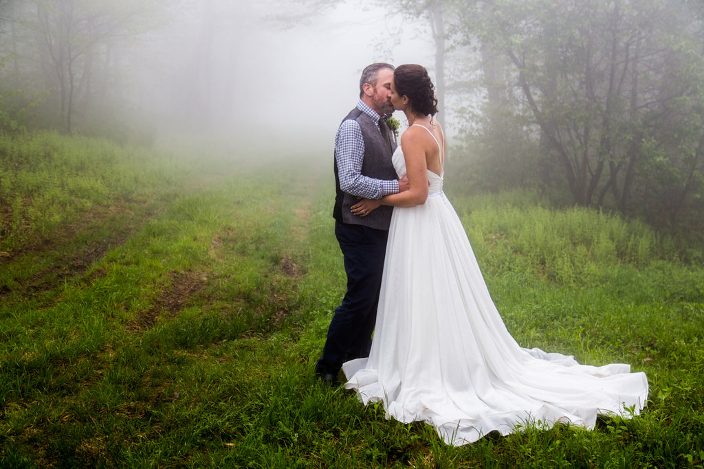 Misty Mountain Marriage on Plattekill Mountain