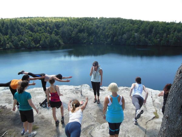 Yoga, Swimming & Wild Berries--Mother Nature's Spa (8/14)