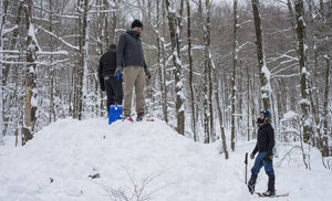 Snow Shelter Building Overnight (3/2-3/3)