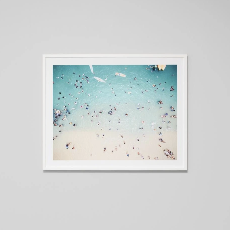 Blue Tide Framed Print