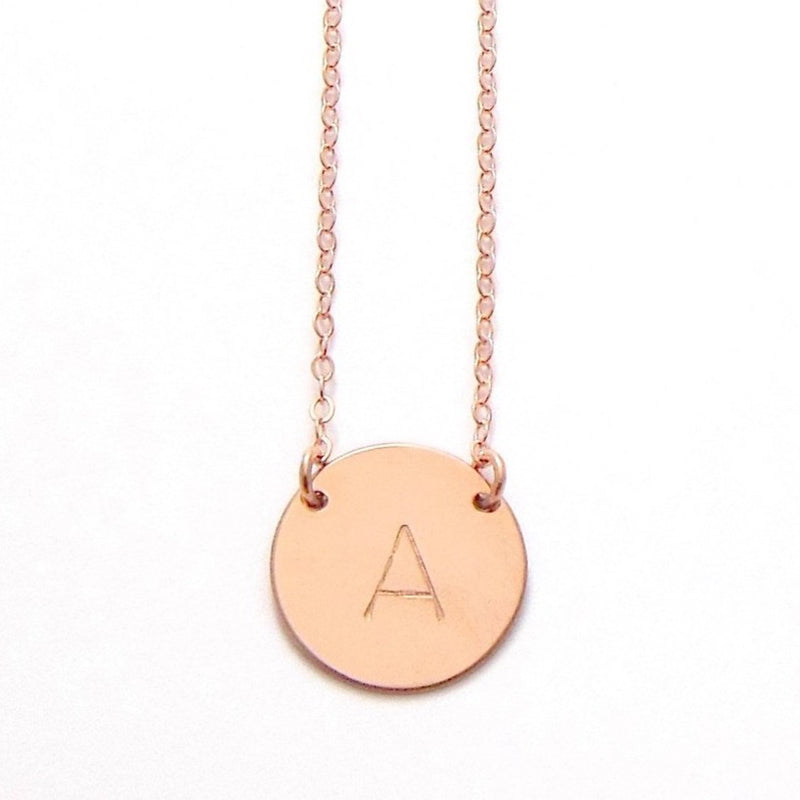 The Chloe Large Initial Necklace
