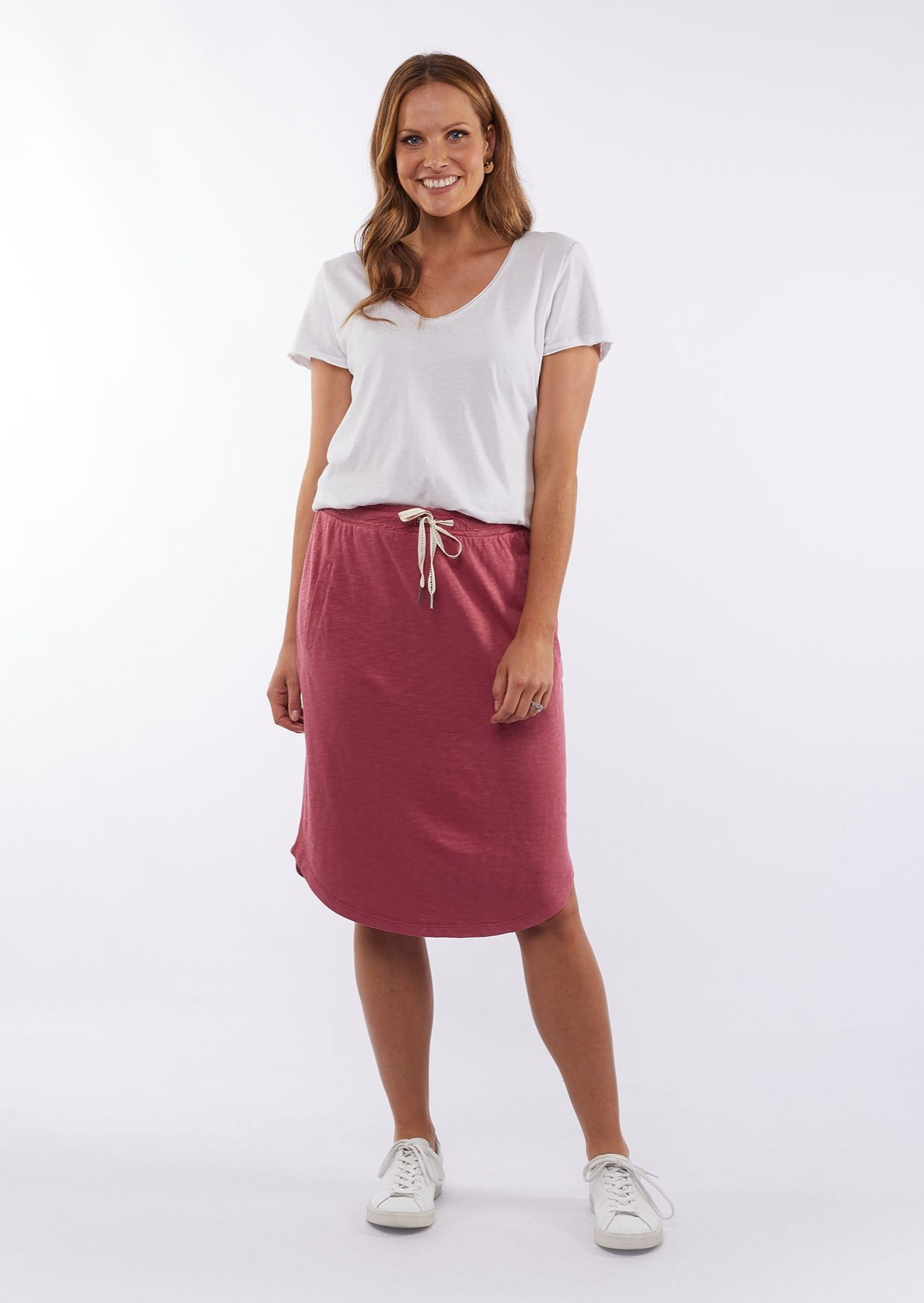 Fundamental Isla Skirt - Rose