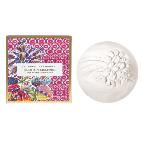 Fragonard Soap - Heliotrope Gingembre