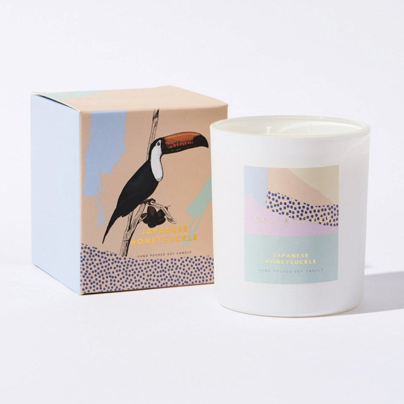 80 hr Japanese Honeysuckle Candle