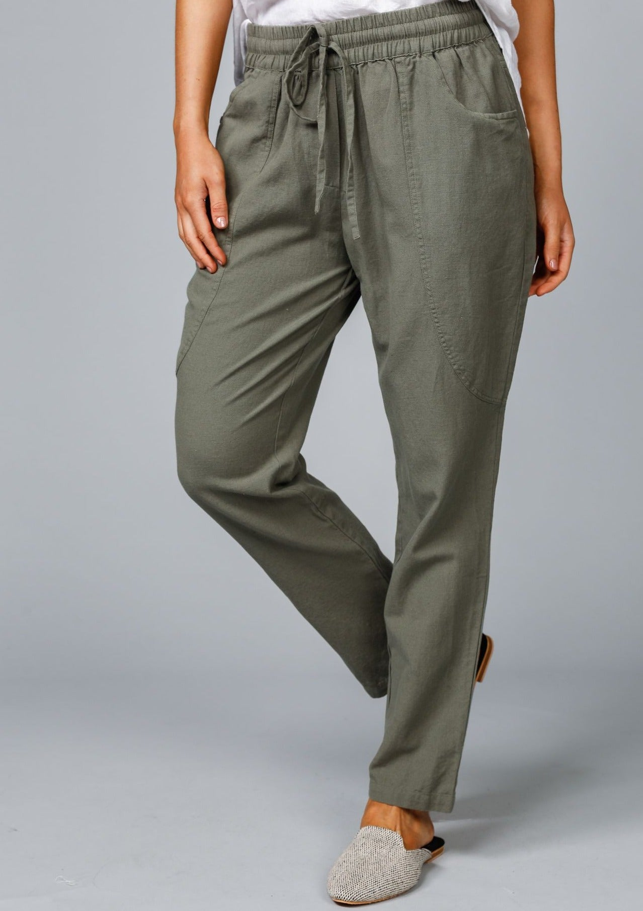 Amalfi Pants - Fern Flex