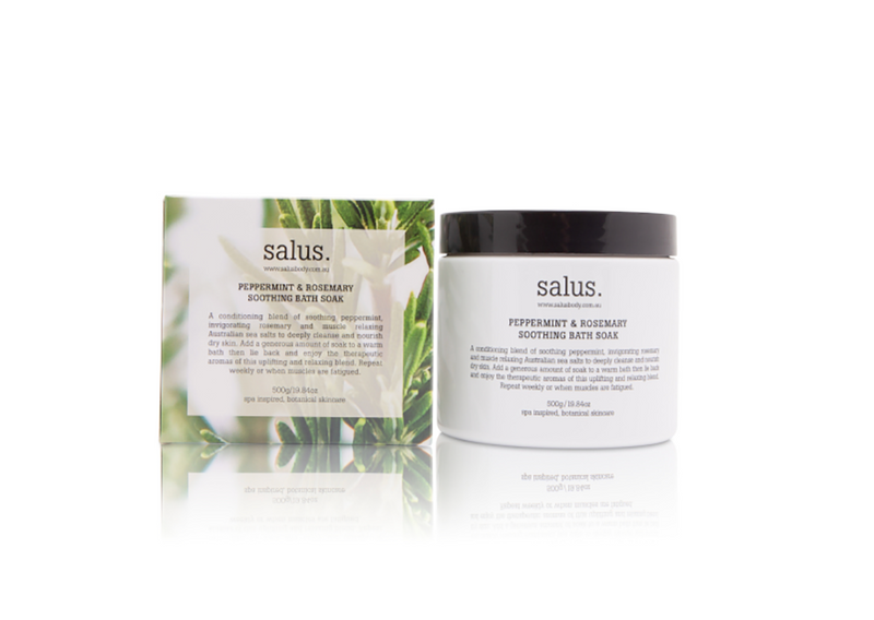 Salus Peppermint and Rosemary Soothing Bath Soak