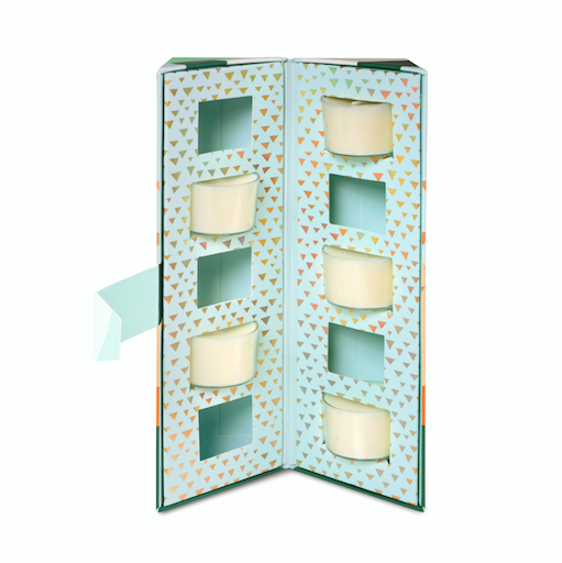 Tea Light Set - Fresh Pine