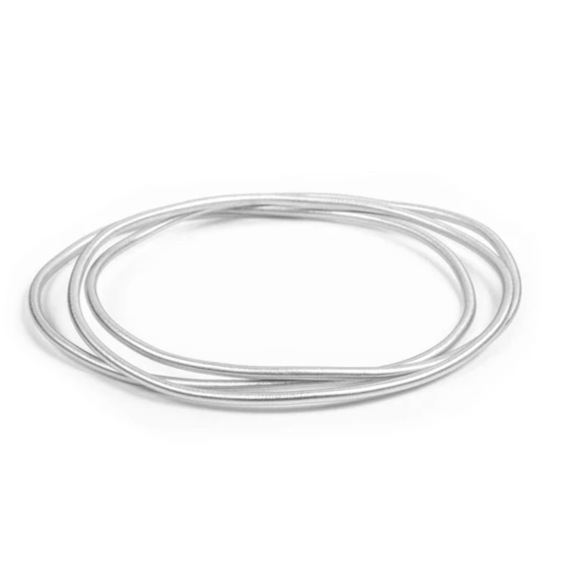 MULTI BANGLE SET - Silver